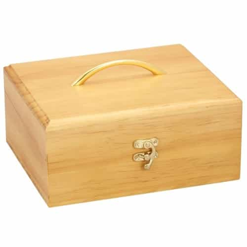 Large Wood Essential Oil Box