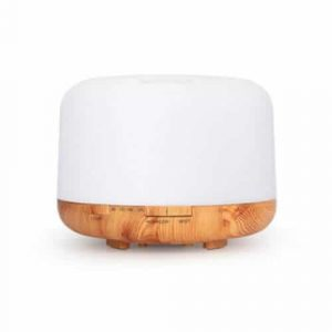 Ultrasonic Diffuser Light Wood Base